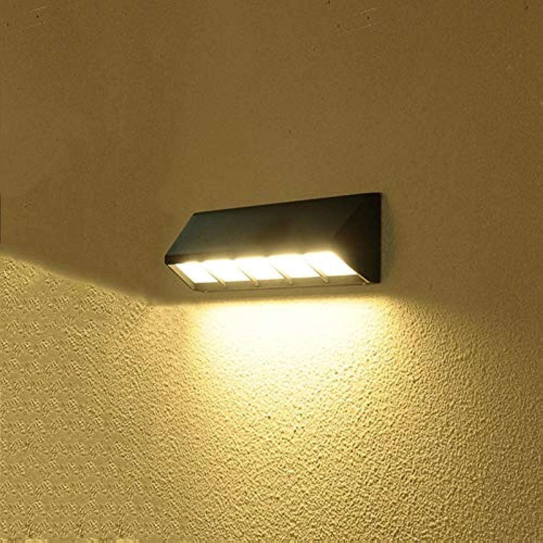 Modern Creative Outdoor Wall Lamp Waterproof Buttenwirich Balcony Corridor Decorative Lamp Exterior Lighting