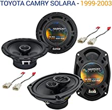 Compatible with Toyota Camry Solara 1999-2003 OEM Speaker Upgrade Harmony Speakers Package New