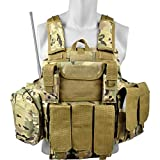 R O Y A L CIRAS Body Armour Chaleco Táctico Carrier Molle Multicam V1026MUL C.I.R.A.S.