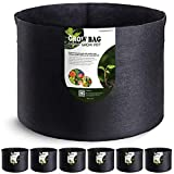 VIPARSPECTRA 6-Pack 20 Gallon Grow Bags - Thickened Nonwoven Aeration...