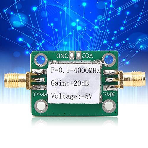 0,1-4000 MHz Amplificador de banda ancha, 0,1-4000 MHz SMA estándar SMA hembra 3 dB 1 dB Punto de compresión Punto de compresión Soporte técnico Bakelite