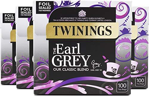 Twinings Earl Grey Tea 400 Bags (Multipack of 4 x 100 Tea Bags)