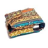 Caja de almacenamiento de aceites esenciales de tela, caja de aceite esencial para 6 botellas de 10 ml