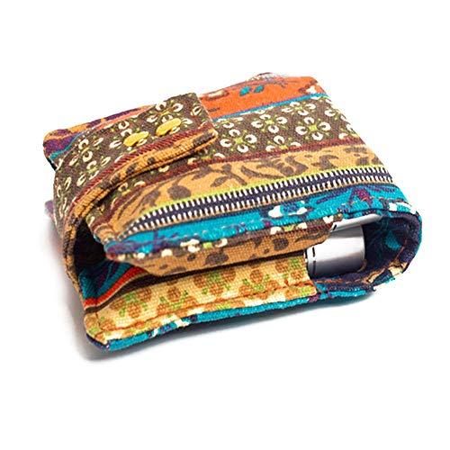 Caja de almacenamiento de aceites esenciales de tela, caja de aceite esencial...