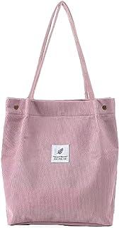 Nircho Handtasche Damen Groß Cord Tasche Damen Casual Handtasche Shopper Damen Chic Schultertasche Henkeltasche Umhängetas...
