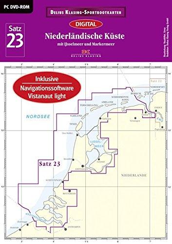 Satz 23: Niederländische Küste (DVD-ROM, Ausgabe 2016): Mit IJsselmeer und Markermeer