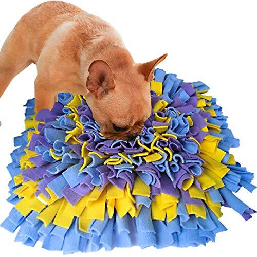 AEITPET Snuffle Mat para Perros Alfombrilla de Entrenamiento Estera de Entrenamiento Manta para la Nariz Juguete de Juego Alfombra Olfato Perro Juguetes Manta Mat de Entrenamiento Alfombra (04