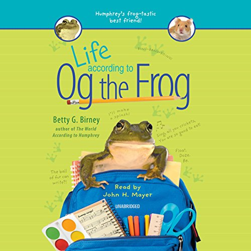 Life According to Og the Frog audiobook cover art