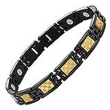 Willis Judd Magnetisches Titanium-Frauenarmband in edler Geschenkbox inklusive Spezialwerkzeug