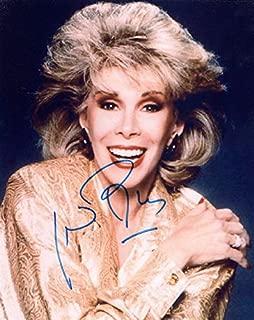 Joan Rivers Autographed Signed 8x10 Big Smile Photo UACC RD AFTAL COA
