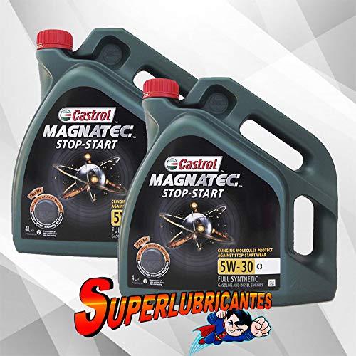 Mundocoche Castrol Magnatec 5W30 Stop-Start C3 2x4L (8Litros)
