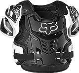 Fox Racing Mens Raptor Vest, CE CERT,Black/White,S/M