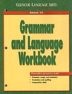 Glencoe Language Arts Grammar And Language Workbook Grade 12