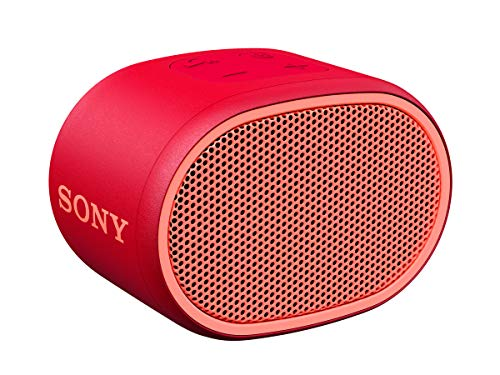 Sony SRSXB01/R XB01 Bluetooth Compact Portable Speaker Red