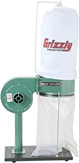 grizzly 10 hp dust collector