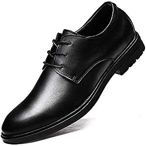 [猛烈な愛] ビジネスシューズ メンズ 本革 就活 靴 紳士靴 冠婚葬祭 結婚式 靴 メンズ フォーマルシューズ 通勤 普段 軽量 防水 通気性 黒 ブラウン 24.5cm-28cm