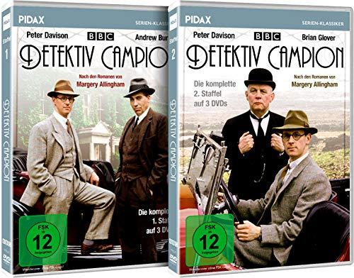 Detektiv Campion - Gesamtedition / Die komplette Krimiserie auf 6 DVDs (Pidax Serien-Klassiker)