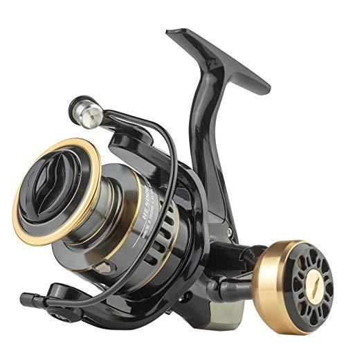 Spinning Fishing Reel 12+1BB Metal EVA Body Smooth Carp Spinning Reels for Saltwater Freshwater Fishing