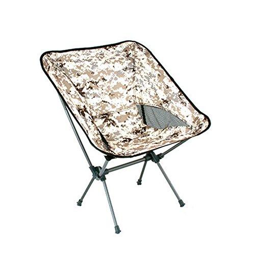 Chaises de camping pliantes Chaise d'extérieur confortable Compact Ultra Léger Moon Leisure Chaise pour camping randonnée Voyage chasse pêche(21\