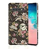 Durable Case for Galaxy S10, Raised Edges Scratch Resistant Lightweight Flexible Slim Fit Soft TPU Protective Phone Cover for Samsung Galaxy S10 Star Wars