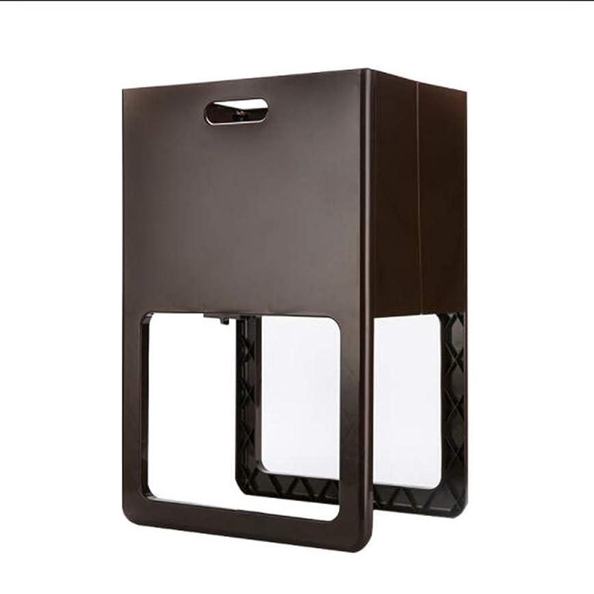 懸念昨日必要IUYWL収納バスケット プラスチック折りたたみ収納バスケット家庭用汚れた衣類洗濯かご61×40×30cm IUYWL収納バスケット (Color : Black)