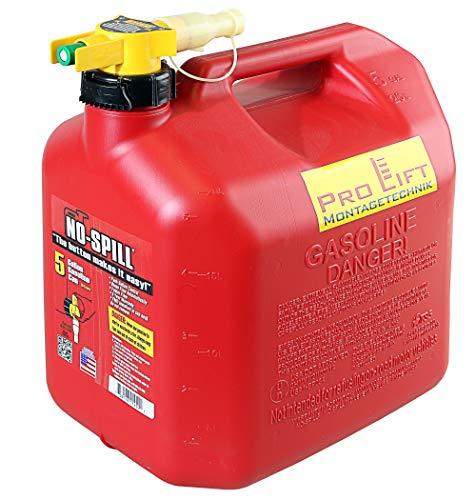 Pro-Lift-Montagetechnik No Spill Kanister Benzin Diesel 20Liter NOSPILL20J, 00250