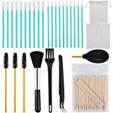 ADXCO 129 Pieces Cell Phone Cleaning Kit Camera Cleaning Kits USB Charging Port and Headphone Port Brush Set Compatible with Phone, iOS Android, Cell Phone, Electronics Cleaner