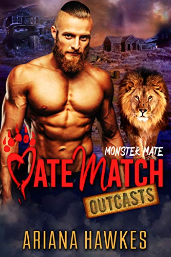 Monster Mate: Lion Shifter Romance (MateMatch Outcasts Book 4) (English Edition)