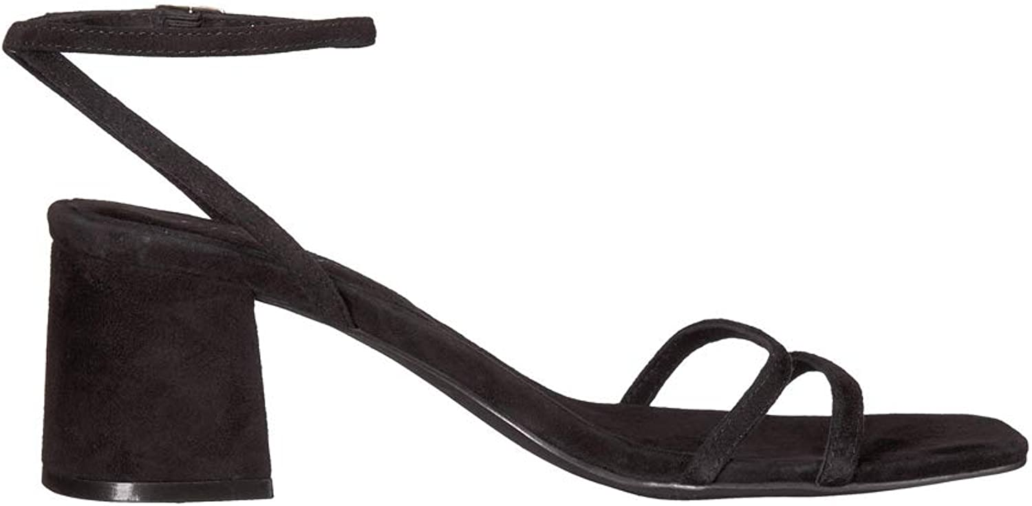 Free People Women's Gabby Block Heel in Black