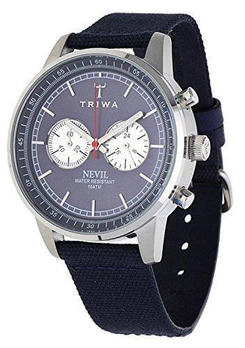 TRIWA Armbanduhr blau/grau NEST108_CL060712