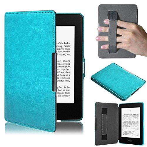 Kindle Paperwhite 5, Amison Smartshell Hülle Case Filz Sleeve für Amazon neue Kindle Paperwhite 5 (Blau)