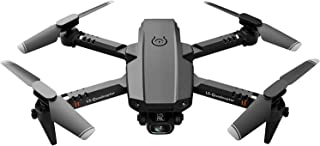 BSOCL Drone 4k Drone With Dual Camera Drone WiFi Real-time Transmission Foldable Quadcopter, Dron Toys (Color : 4K 2 batte...