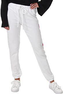 Juicy Couture Womens French Terry Jogger Lounge Logo Sweatpants
