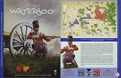 Tactical Wargame The Day of Waterloo, 1815 AD