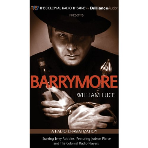 Barrymore audiobook cover art