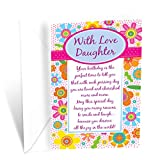 Prime Greetings Happy Birthday Card For Daughter