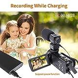 Cámara Video Cámara Videocámara 16X Zoom Digital Videocámara con 3.0'Cámara de Control Remoto LCD (Z8)
