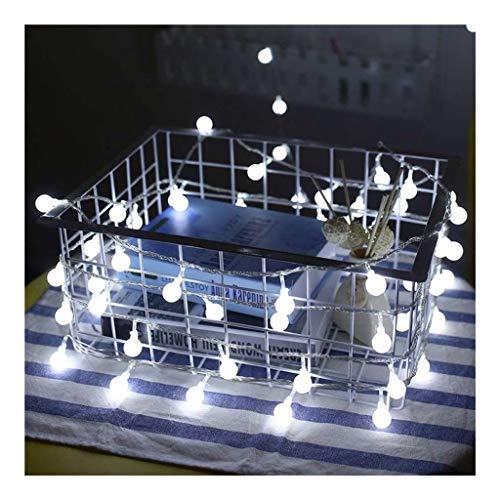 OKMIJN Lichtsnoer, waterdicht, led-globe lichtsnoer voor binnen, slaapkamer, buitenverlichting, warme sfeer, voor patio, Halloween, Thanksgiving, Kerstmis