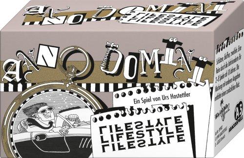 ABACUSSPIELE 09982 - Anno Domini - Lifestyle, Quizspiel, Schätzspiel, Kartenspiel