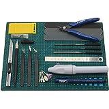 プラモデル工具セット ガンプラ工具 模型工具 プラモ工具 クラフトツール ミニルーター 付き (GR)