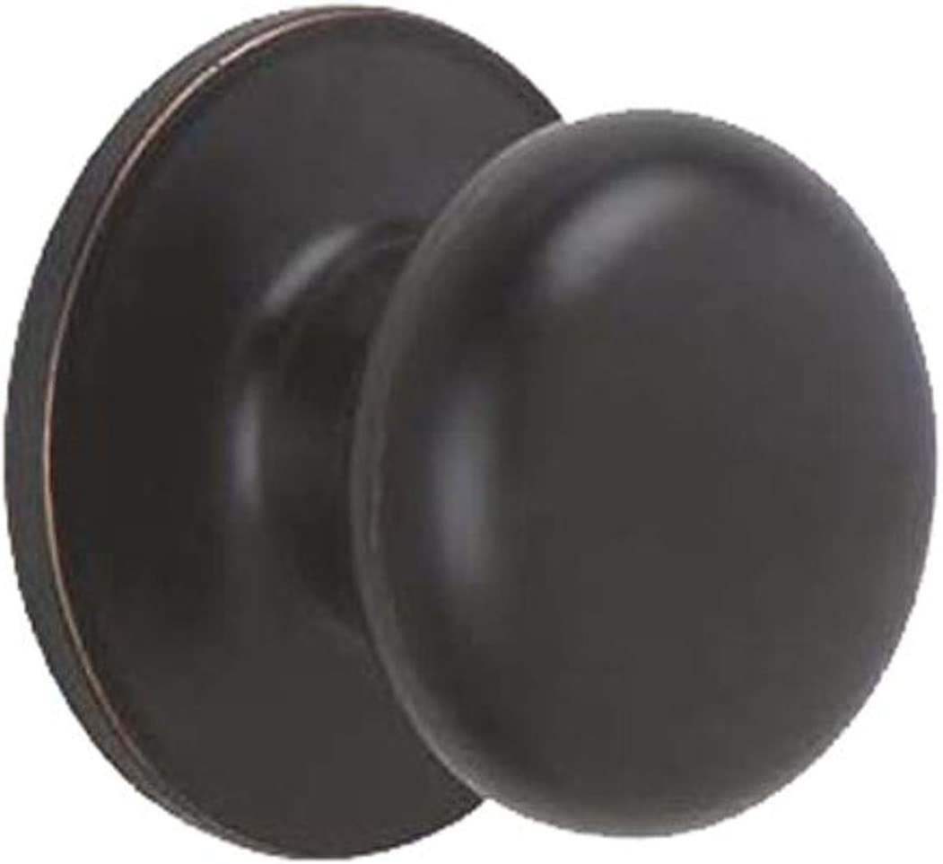 Max 67% OFF Dexter by Schlage Ranking TOP7 J10STR716 Stratus Hall Aged Closet Knob and B