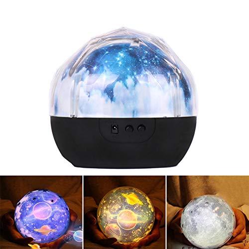 DJG Colorido Cielo Estrellado Luces, Cielo Estrellado Universo luz del proyector de Audio Bluetooth, Noche romántica de cumpleaños Regalo de la Muchacha de la Magia LED luz de la Estrella del corazón