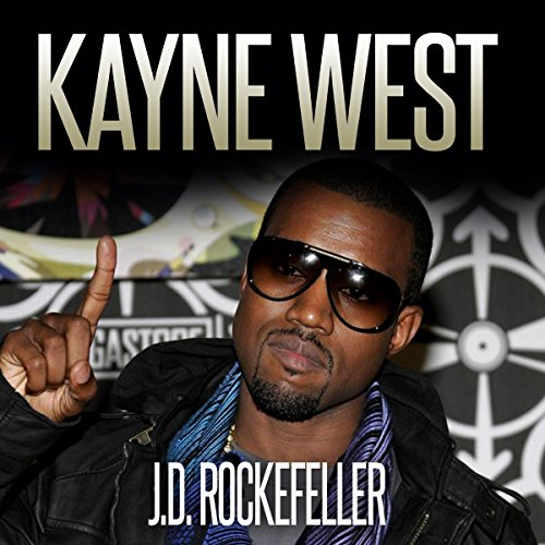 Kanye West audiobook cover art