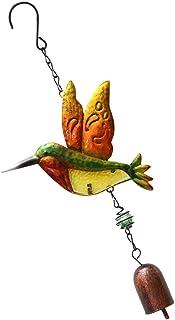 NUOLUX 風鈴 夏の風物詩 ウィンドチャイム 花火 ぶら下げ オーナメントベル 金属 装飾 音色 wind chime 家庭 ガーデン DIY 贈り物 雑貨 おみやげ