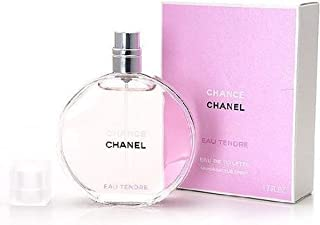 Chance Eau Tendre by Chanel for Women - Eau de toilette, 50 ml