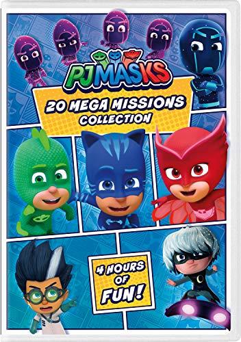 PJ Masks: 20 Mega Missions Collection [DVD]