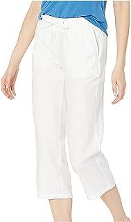NIDOV Capri Joggers Pants for Women Drawstring Comfy Sweatpants Lounge Capris Workout Pants with Pockets