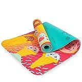 Myga Childrens Mat Sweet Tooth Esterilla de Yoga para niños, Unisex Adulto, 150cm x 55cm x 6mm