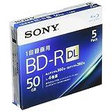 ソニー ビデオ用ブルーレイディスク 5BNR2VJPS4(BD-R 2層:4倍速 5枚パック)