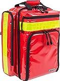 Elite Bags, EMS, Mochila de emergencias rescate, Cubre-mochila de poliéster, Material Tarpaulín, Rojo